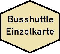 Busshuttle Einzelkarte